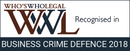 Who's Who Legal - Business Crime Defence 2018
