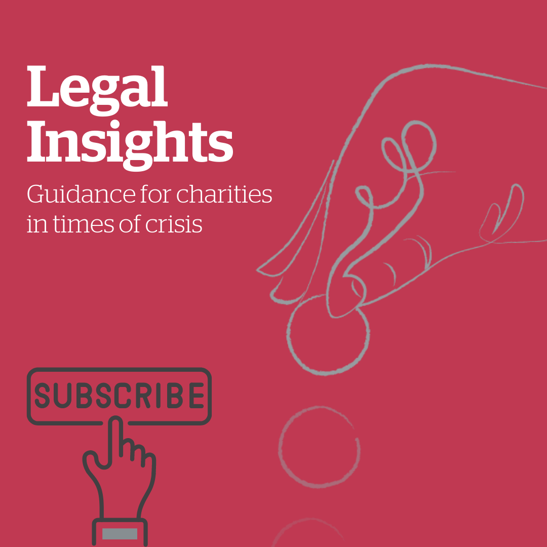 Legal Insights newsletter for charities