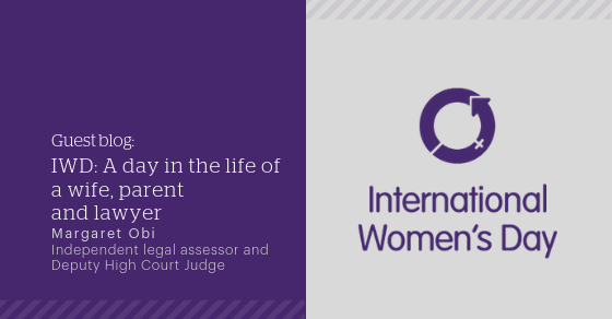 IWD: Guest blog: A day in the life of a wife, parent and
